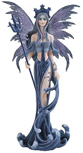 StealStreet SS-G-91200 Fairy Collection Blue Pixie Desk Decoration Figurine Collectible (Collectible Fairy Figurine Collection)