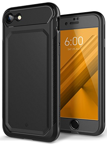 Nero Case - Caseology Nero Tough for Apple iPhone 8 Case (2017) / for iPhone 7 Case (2016) - Charcoal Gray