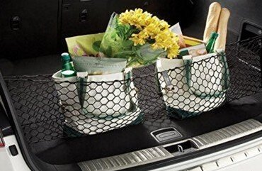 Car Rear Cargo Elastic String Net Storage Bag Organizer Flexible Cargo Net Mesh for HONDA PILOT - Honda Pilot Cargo