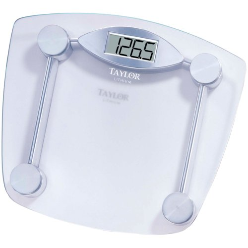 TAYLOR 7506 Chrome & Glass Lithium Digital Scale Home, garden & living from Taylor Dresses