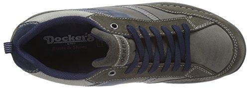 37lk007 204666 Hommes Gerli Gris Chaussures By Richelieu Dockers Brogue fqxEyRw