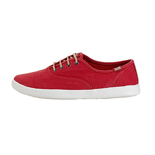 Dude Scarpe Red Failed Female Coral Lace Jenny Swwpdg
