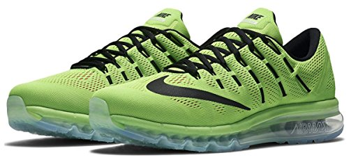Nike Air Max, Scarpe da Corsa Uomo Verde (Verde (Elctrc Green/Blck-pnk Blst-wht))