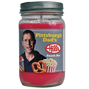 Pittsburgh Dad Hills Snack Bar Scented Soy Wax 16oz Candle. Aromatherapy Soy Candles Burn Cleaner ~ Longer ~ Non-Toxic ~ 100% Yinzer Made in USA. Gift For Special Occasions - Sugar Creek Candles