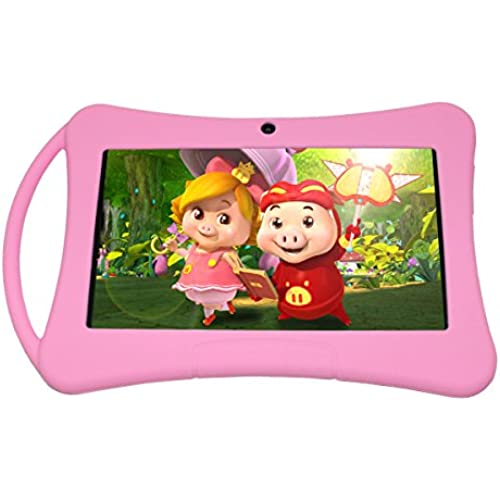 Fonxian 7 Inch Kids Tablet PC - Latest Android 5.1 Lollipop OS, Quad Core, WiFi, Games, 1GB RAM, 8GB Storage Coupons