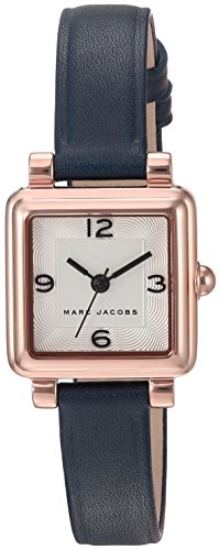 Marc Jacobs Women's 'Vic' Quartz Stainless Steel and Leather Casual Watch, Color:Blue (Model: MJ1546)