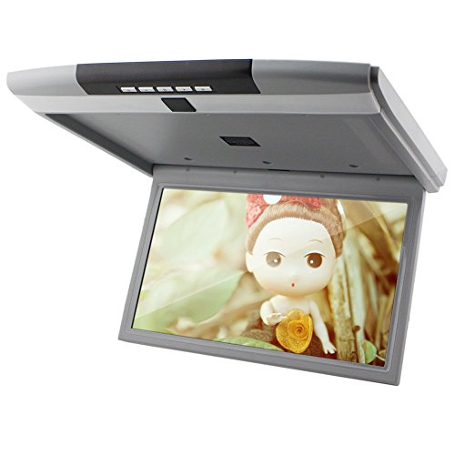 15 inch Inch Roof Mounted Overhead 16:9 LCD Monitor Car Ceiling ()