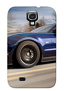 Tpu Case Cover For Galaxy S4 Strong Protect Case - Mustang Rtr Design