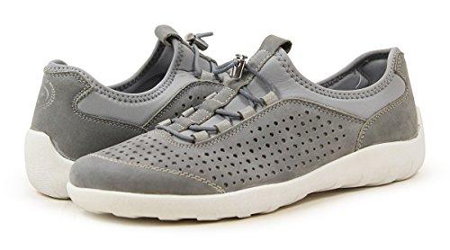 Remonte Damen R3500 Slip Op Sneaker Grau