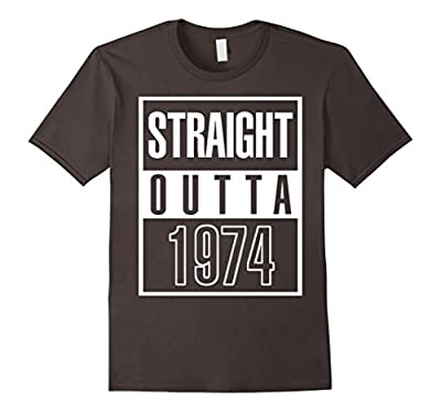 1974 43th Years Old Funny Birthday Gift T-Shirt