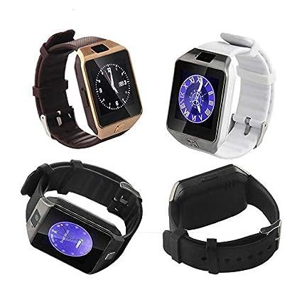 Amazon.com: Feeling-one Bluetooth Phone Watch, DZ09 ...