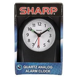Sharp Quartz Analog Alarm Clock