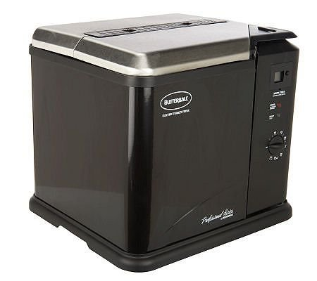 Butterball 23011611 Indoor Electric Turkey Fryer Black image