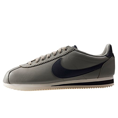 Nike Scarpe Unisex Cortez Leather Se in Pelle Grigia e Nera 861535-007