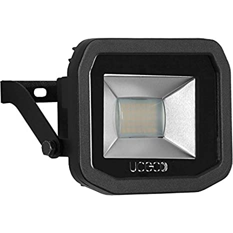 Luceco Guardian Slimline White 5000K LED 22W 1800 Lumens PIR Floodlight WHITE