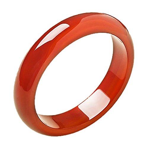 Fine natural bracelet Red agate Bangle Hand catenary Elegant fashion