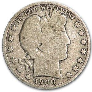 1900 S Barber Half Dollar Good Half Dollar Good