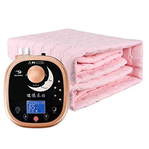 DWLINA 水毛布、ない放射線一定温度インテリジェント高品質配管毛布安全電気ピンセット,Pink+B,1.8*2M   B07K56M1SY