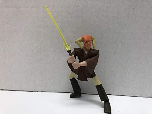 (Star Wars Clone Wars Saesee Tiin Jedi PVC Figure)