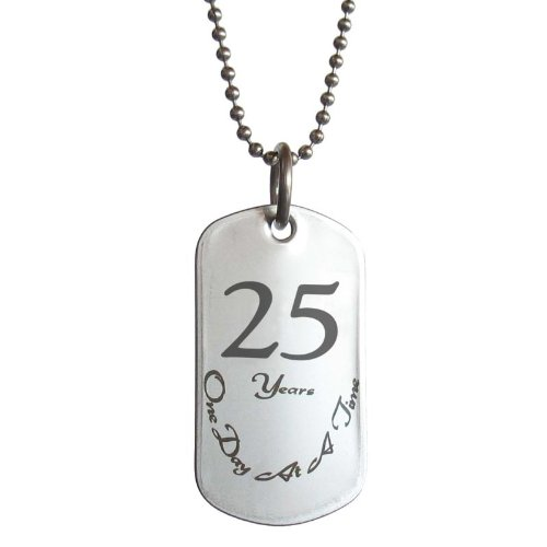 Sobriety Anniversary Stainless Alcoholics Narcotics product image