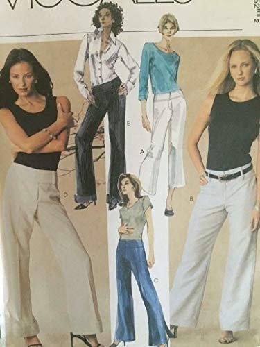 (Mccall 3935. Misses Pants in TWO Lengths. - Size: 4-6-8-10)