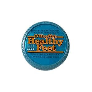 O'Keeffe's K0320001-4 Healthy Feet Foot Cream in Jar (4 Pack), 3.2 oz