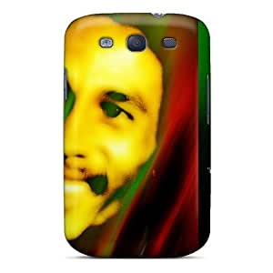 Excellent Hard Phone Cover For Samsung Galaxy S3 (cVP9712Scvy) Unique Design HD Bob Marley Pictures