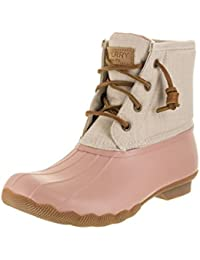Womens Saltwater Canvas Duck Boot