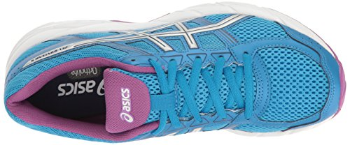 ASICS Women's 4 Orchid Gel M 6 Diva Blue Running Contend 5 Shoe US Silver wwtax