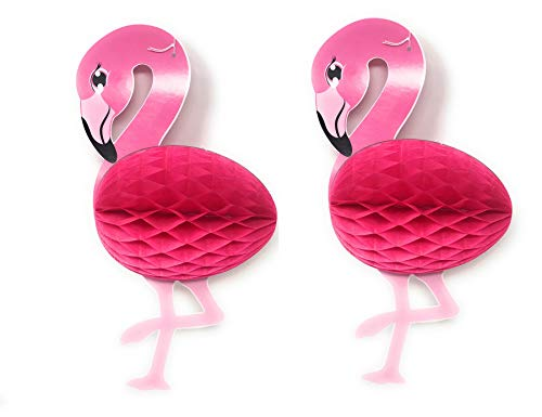 Tissue Paper Flamingos Party Decorations for Summer Parties, Luau, Themed Events (Pack of 2)]()