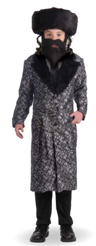 Forum Novelties Deluxe Rabbi Child Costume, Medium