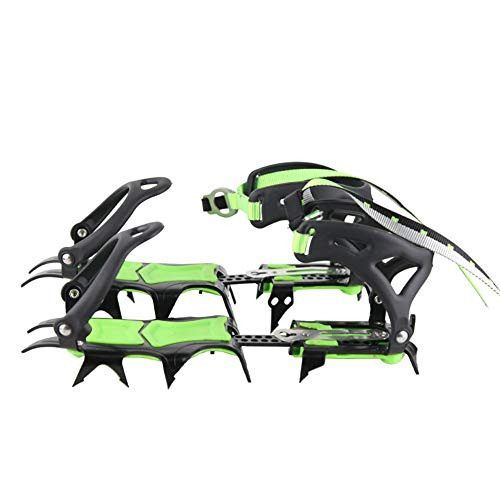 BRS-S1 Snow Leopard Crampon for Mountaineering and Ice Climbing(Short Teeth)