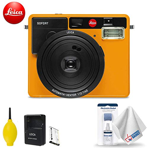 Leica Sofort Instant Film Camera (Orange) Base Accessory Kit