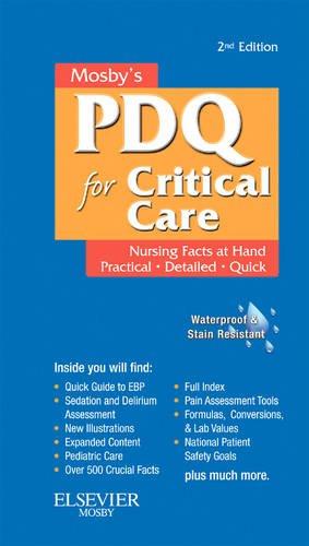 Mosby's Nursing PDQ for Critical Care, 2e