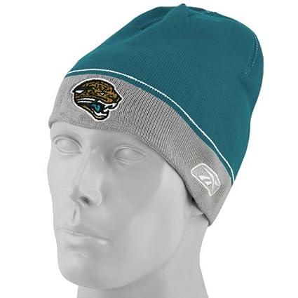 Amazon.com   Jacksonville Jaguars Sideline Knit Reebok Hat - Youth ... 64d8a06c41d