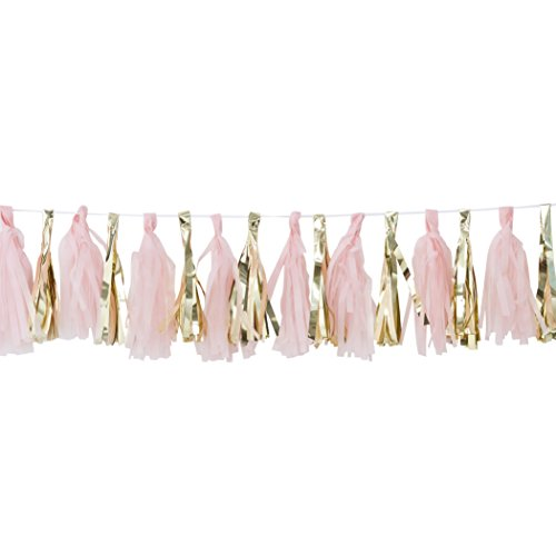 Ginger Ray OB-117 Tassel Garland (16Piece)