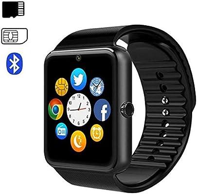 Pcjob Bluetooth Smartwatch de muñeca Inteligente con Reproductor ...
