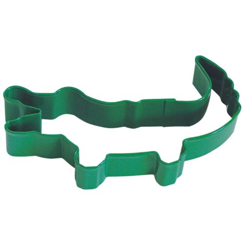 Alligator cookie cutters green