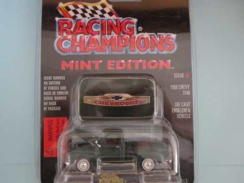 1950 Chevy 3100 Mint Edition By Racing Champions (Dark Green Color)