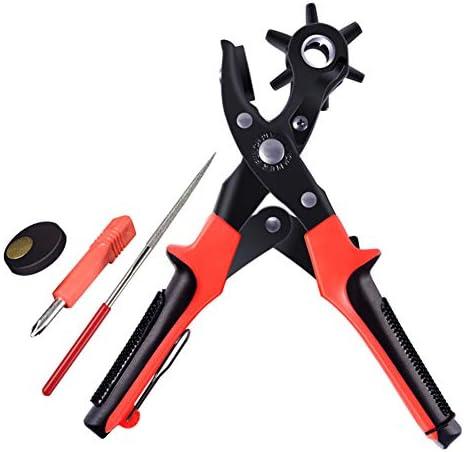 ベルトのステッチプライヤー穿孔アイレットピアサーレザークラフトツールのパンチング、革パンチ