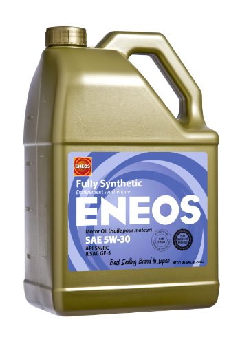 Eneos 3261313 api sn ilsac gf 5 certified 5w 30 fully for What is synthetic motor oil made out of