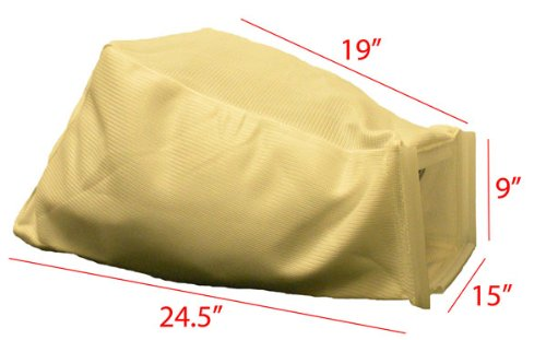 Honda 21'' 214-series Steel Deck replacement grass bag. Bag ONLY by Humboldt