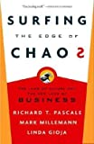 img - for [(Surfing the Edge of Chaos: The Laws of Nature and the New Laws of Business )] [Author: Richard Tanner Pascale] [Jan-2009] book / textbook / text book