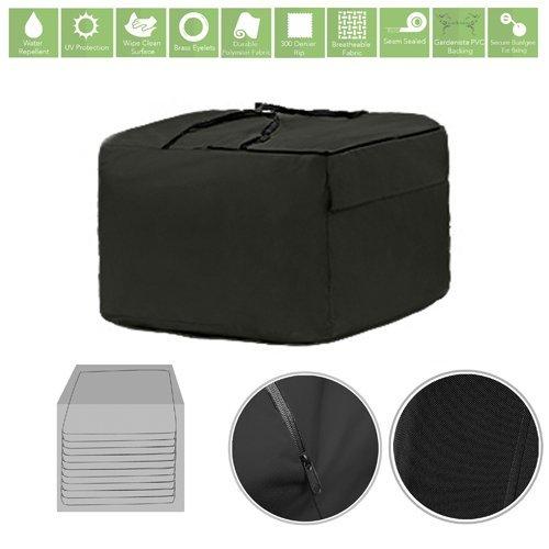 Black Water Resistant Garden Accessories Cover Protector Large Storage Bag Gardenista