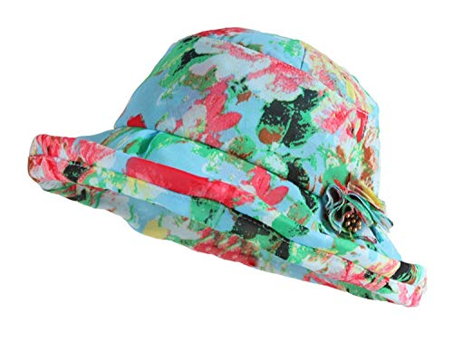 Greenred Plegable Tamaño Greenred 3pc Para Floral Sombreros Un Señoras El Verano Playa Sombrero Tamaño Sol color Oudan 17SzaqHZS