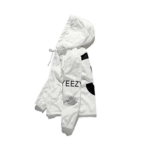 adidas yeezy jacke weiß