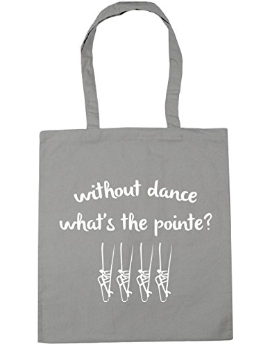 Light Grey Without Tote the litres 10 Pointe Beach x38cm 42cm Dance Bag Shopping Gym HippoWarehouse What's 4qSw6SZ