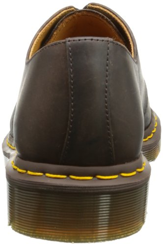Lace Dr Shoes 201 Martens Gaucho Brown 1461 up Unisex Crazyhorse TqPtrq