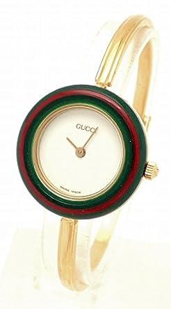 d151a84739f8 Amazon | [グッチ] GUCCI チェンジベゼル レディース 腕時計 クォーツ 11/12.2 [中古] | GUCCI(グッチ) | 腕時計  通販