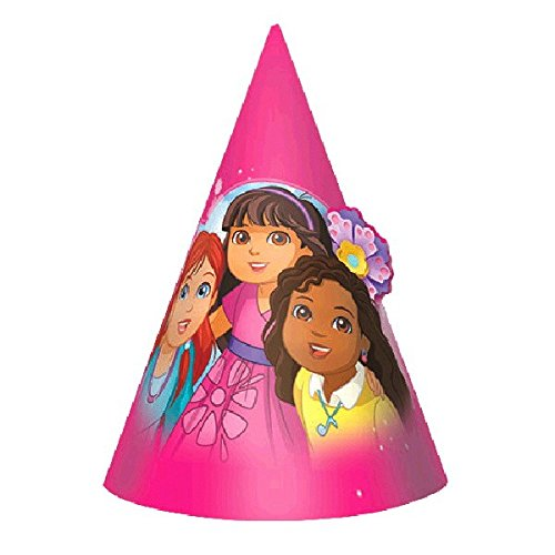Amscan Dora and Friends Paper Cone -